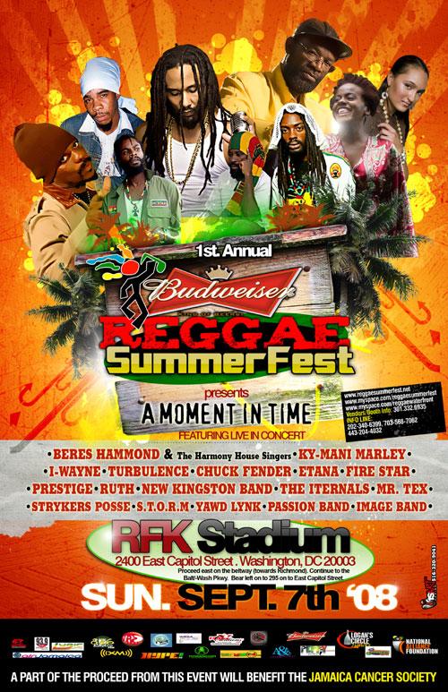 Budweiser Reggae Summer Fest