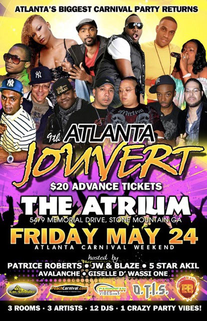 9th Annual Atlanta Jouvert