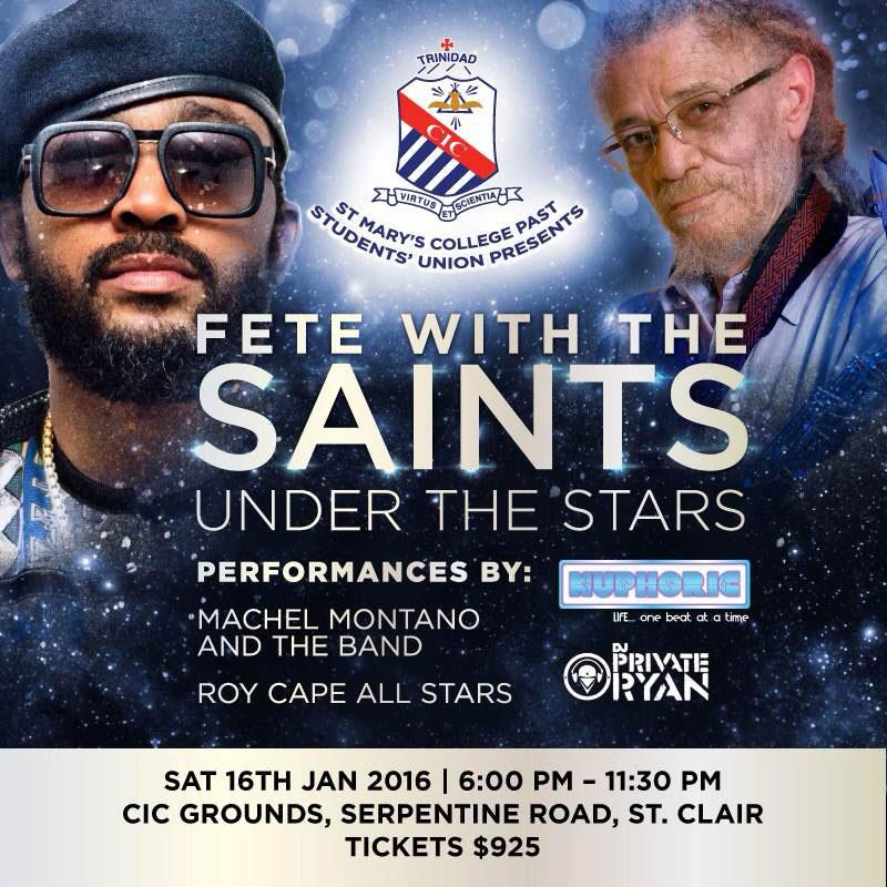 Fete With The Saints