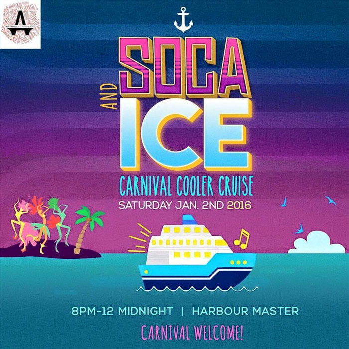 Soca and Ice Carnival Cooler Cruise
