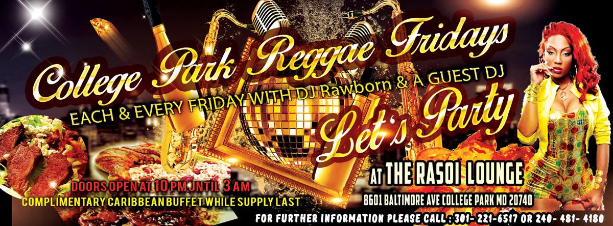 College Park Reggae Fridays