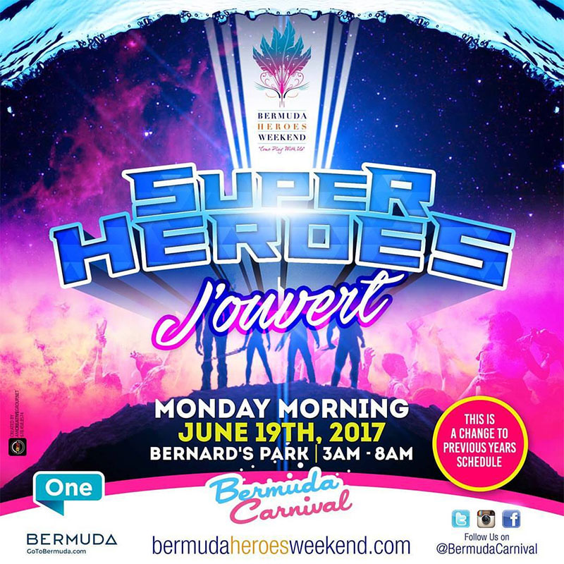 Bermuda Heroes Weekend 2017 - J