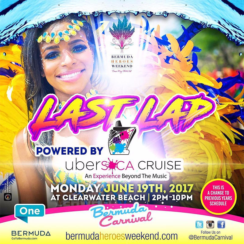 Bermuda Heroes Weekend 2017 - Last Lap