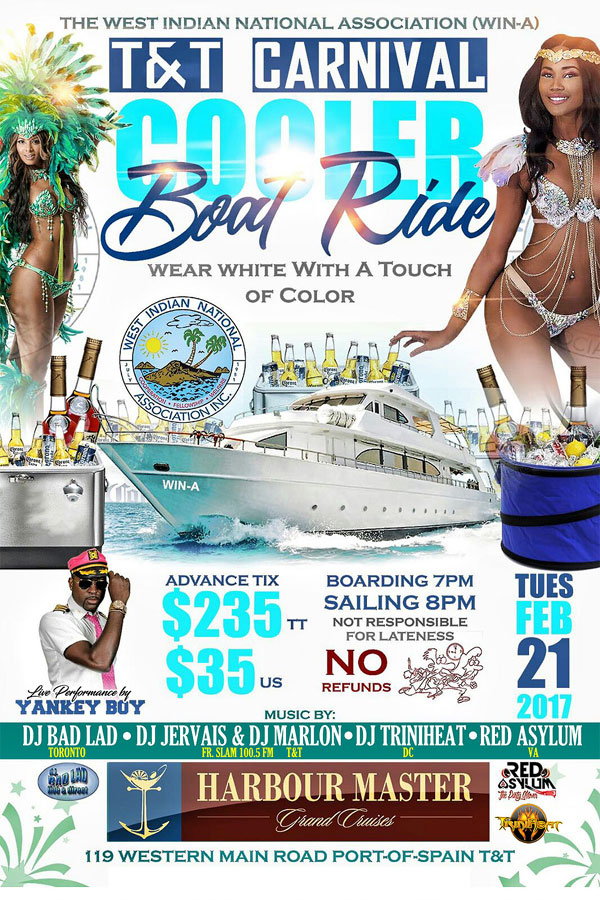 T&T Carnival Cooler Boat Ride