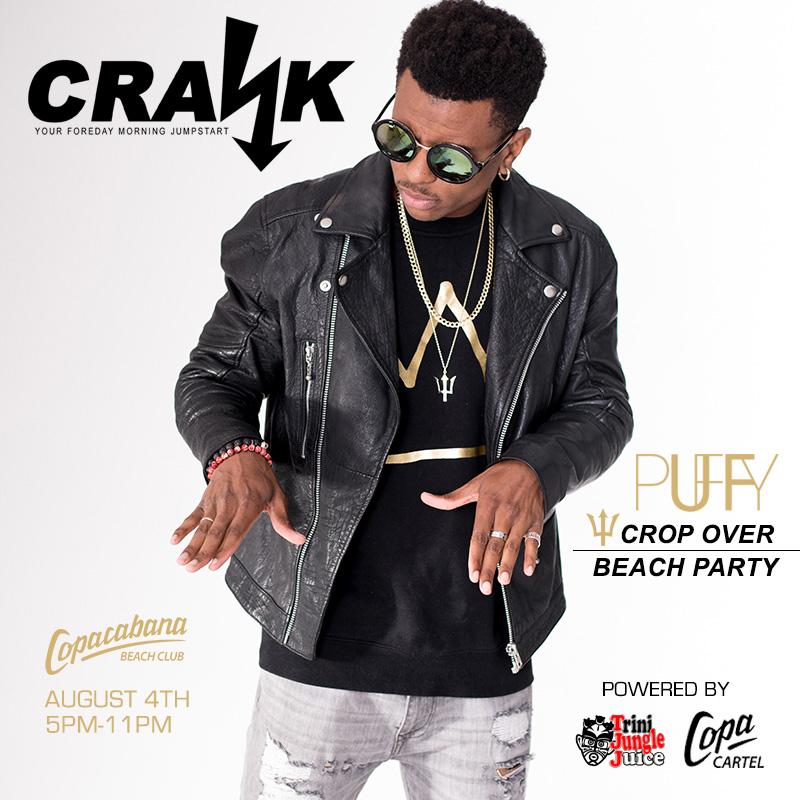 CRANK Beach Party 2017