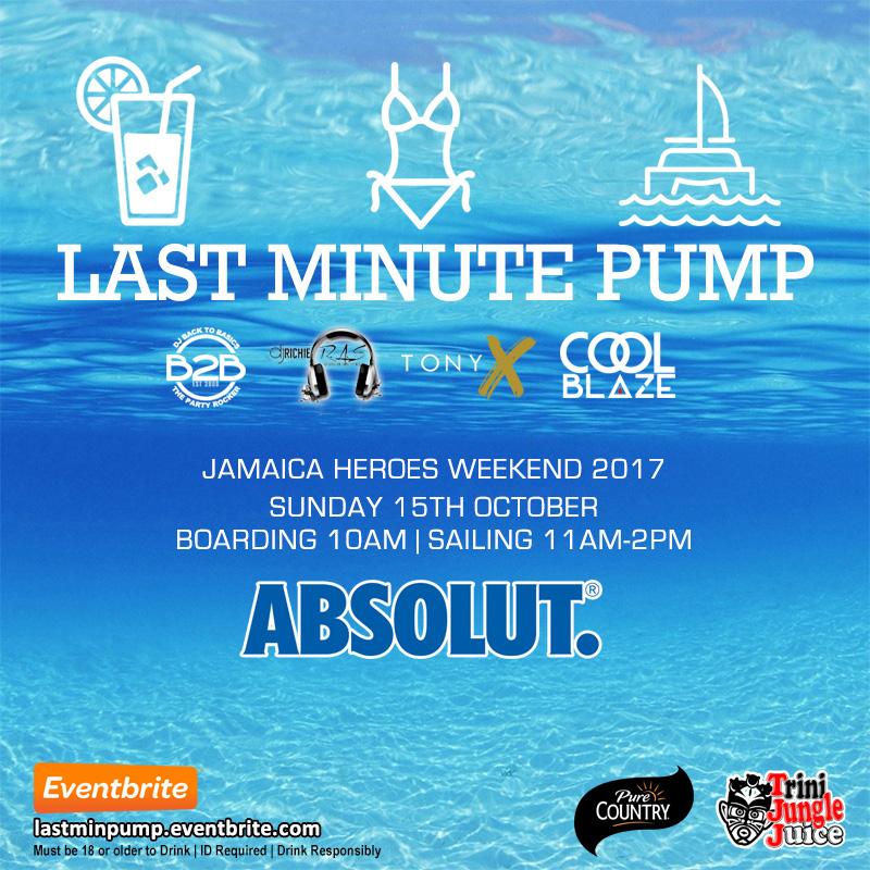 Trini Jungle Juice: Last Minute PUMP Cruise 2017
