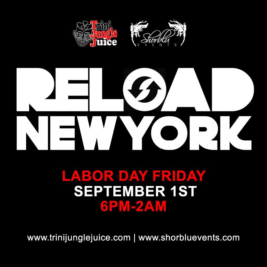 Trini Jungle Juice x ShorBlu: RELOAD New York