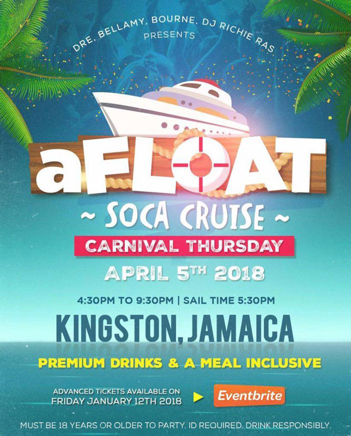 aFLOAT Soca Cruise (Boat 1)