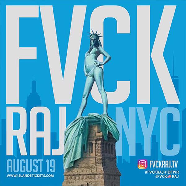 #FVCKRAJ NY