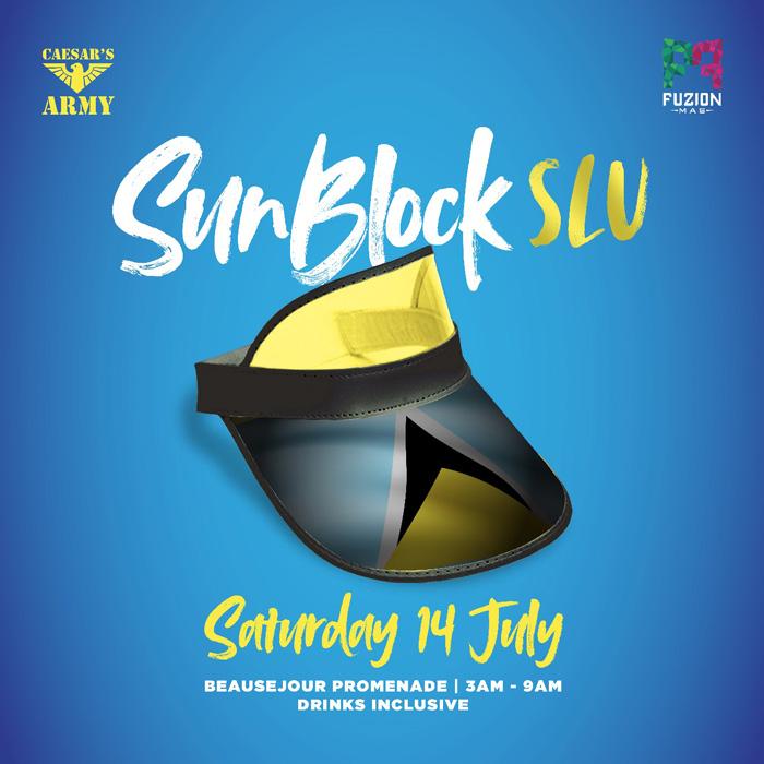 Sunblock St. Lucia 2018