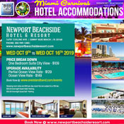 Miami Carnival Hotel Accommodations