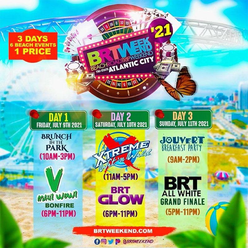 """BRT Weekend 2021 """"Atlantic City"""""""