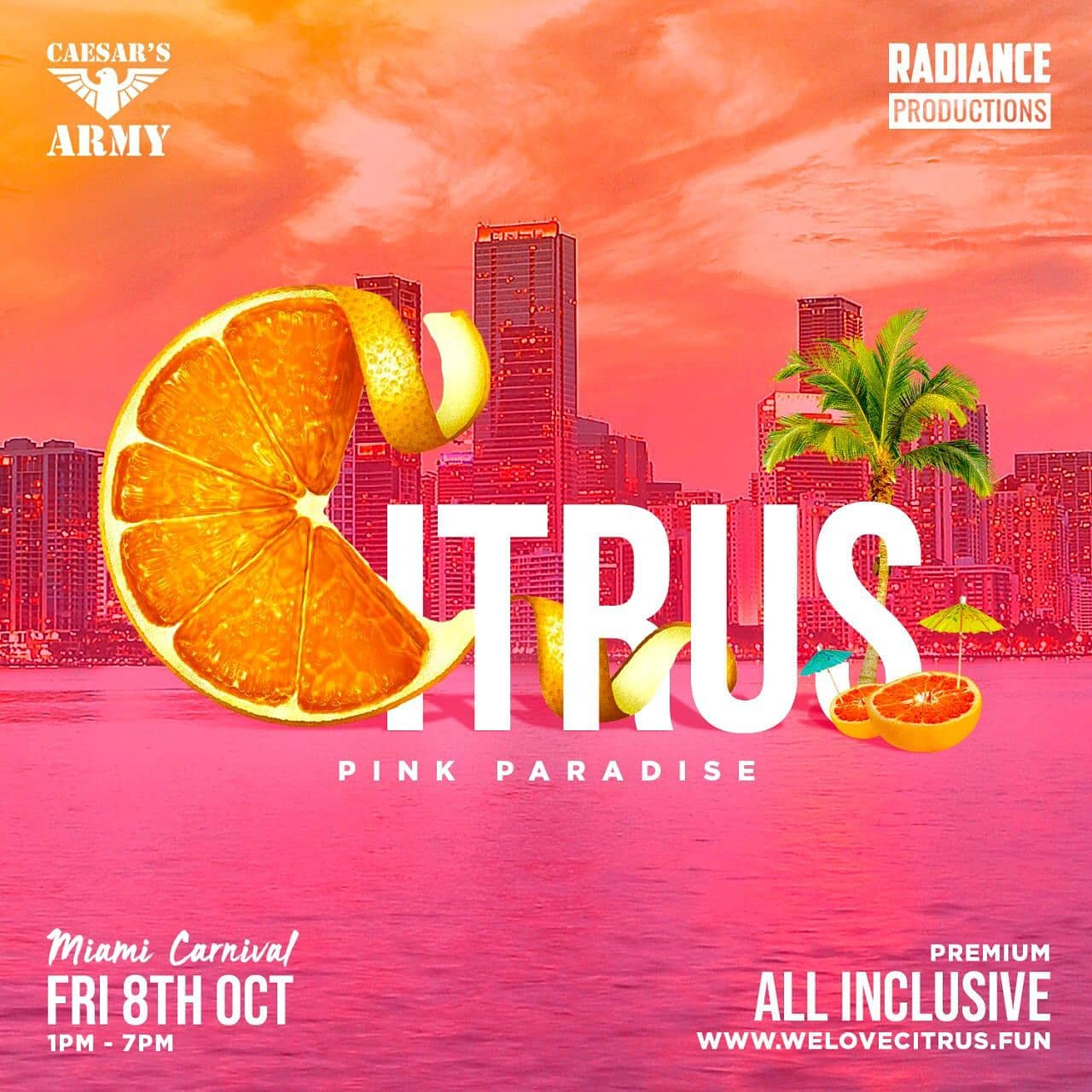 Citrus Miami Carnival 2021