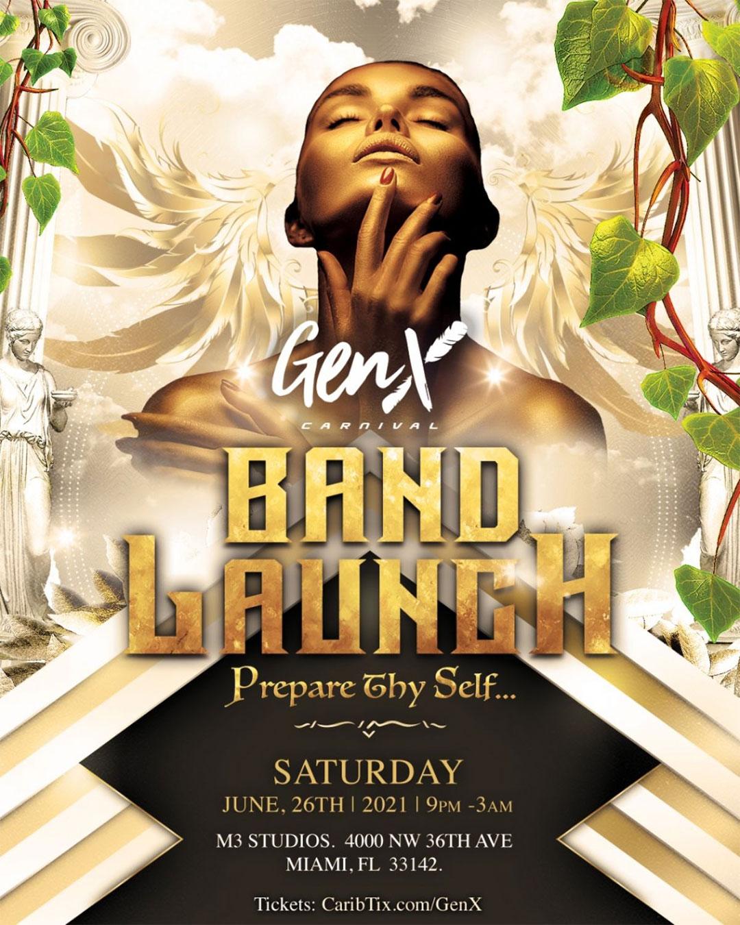 GenX Carnival Band Launch 2021