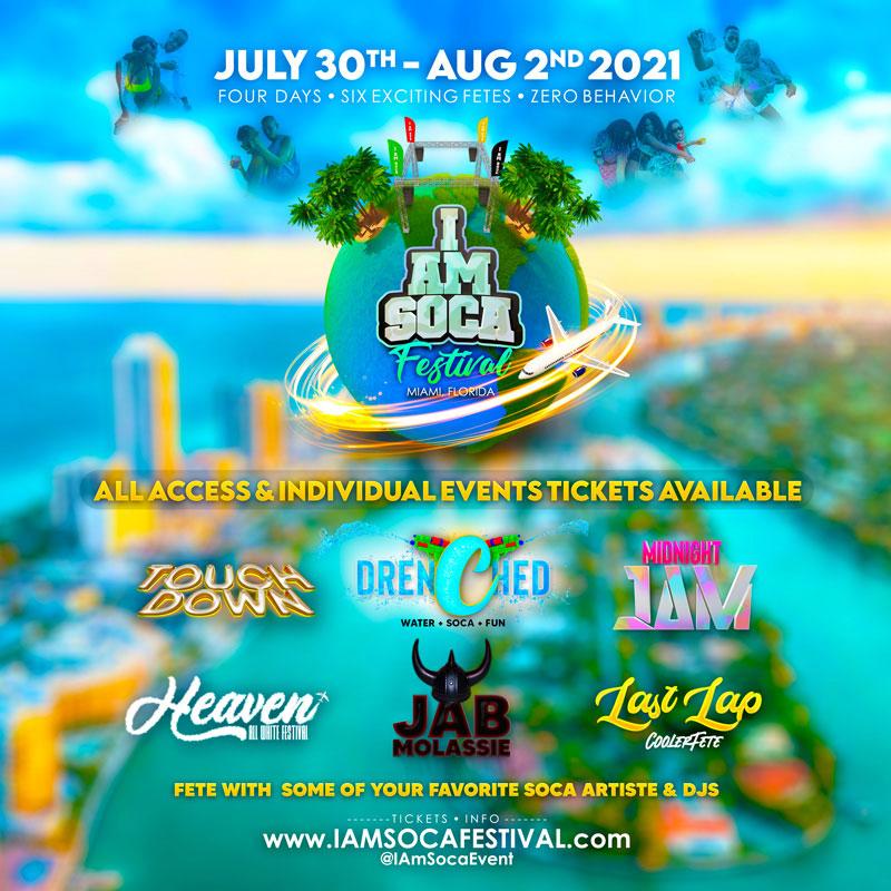 I Am Soca Festival in Miami