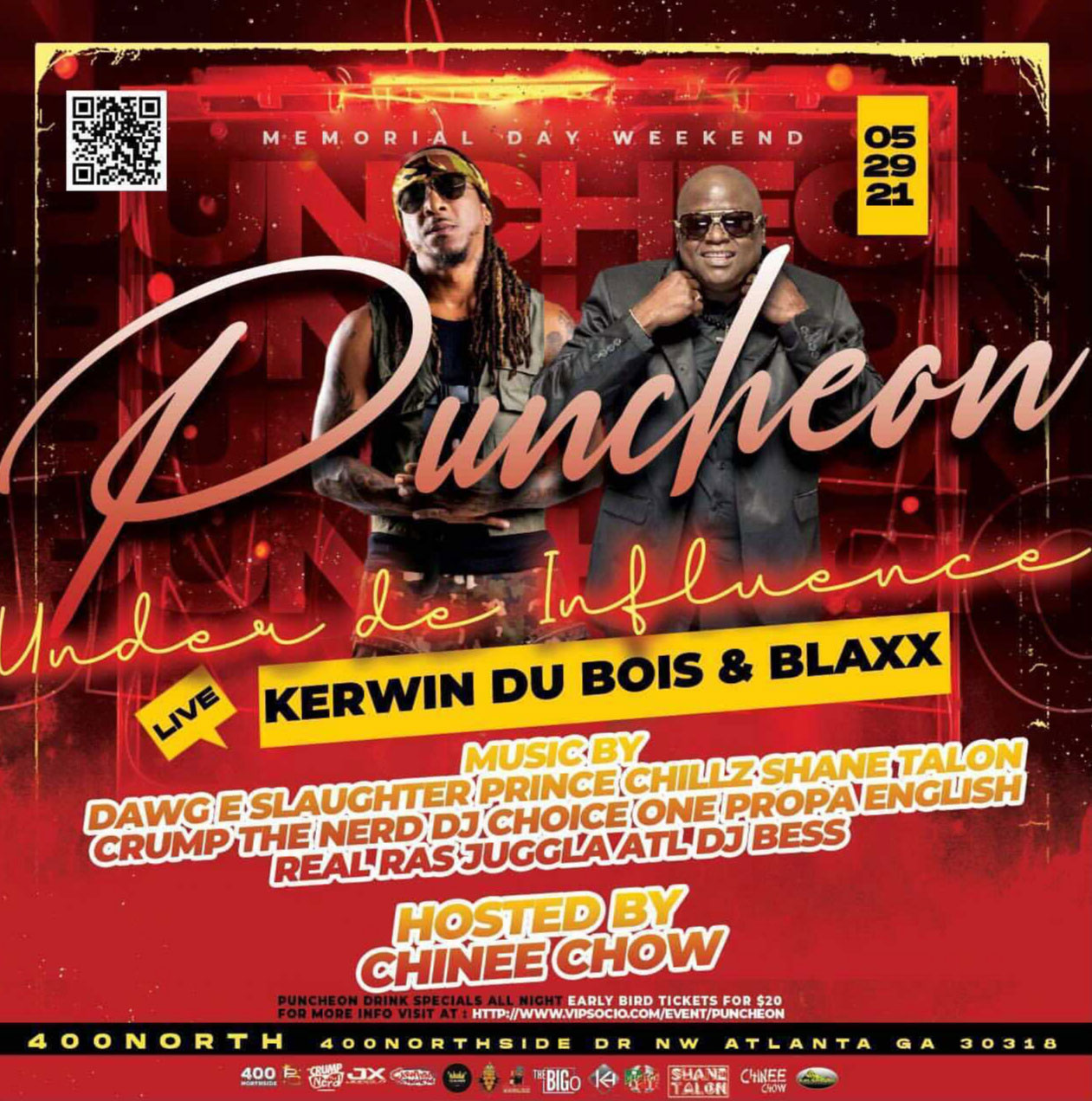 Puncheon w/ Kerwin Du Bois and Blaxx Live in Concert