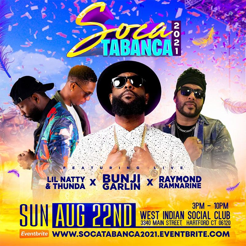 Soca Tabanca 2021 - Live in Concert Bunji Garlin & Friends