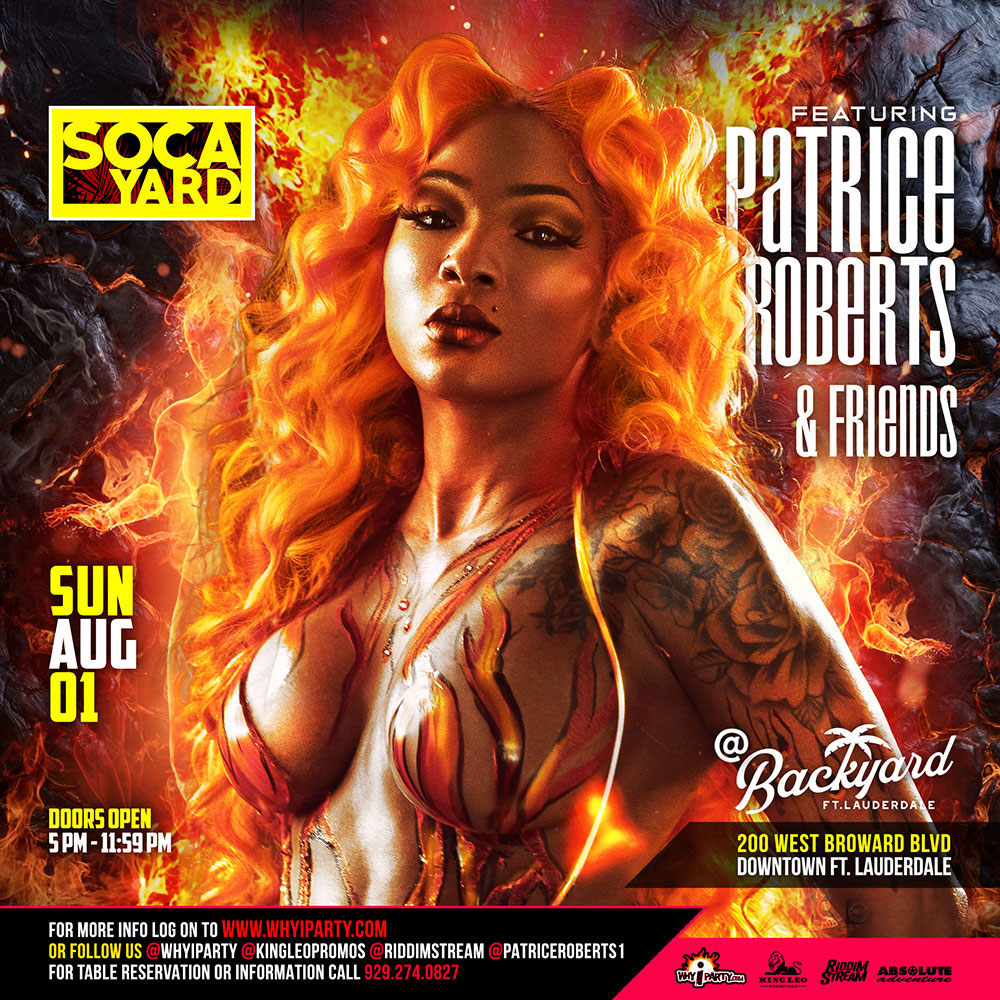Soca Yard featuring Patrice Roberts and Friends