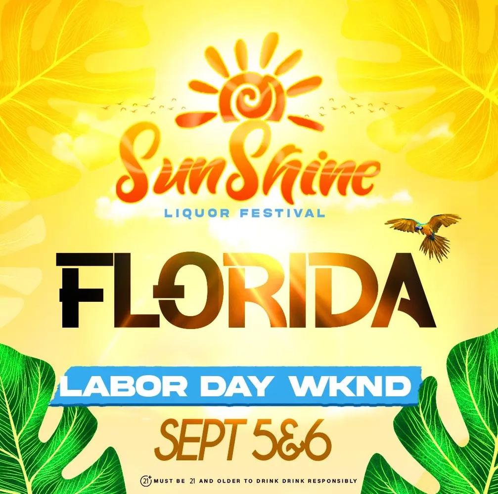 Sunshine Liquor Festival Florida 2021