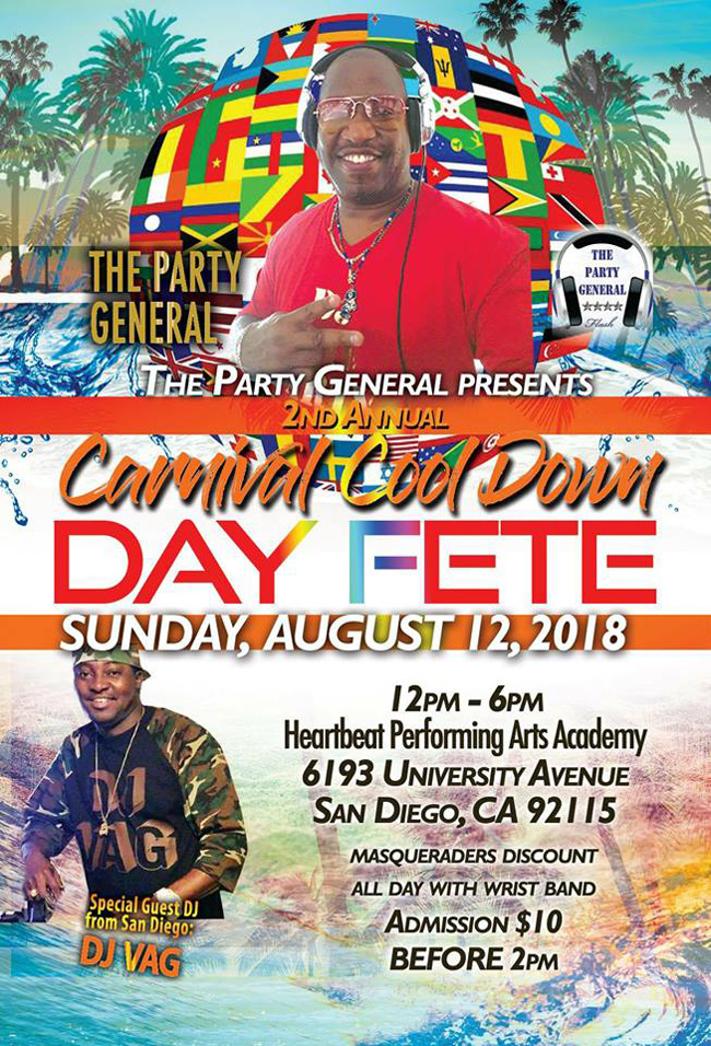 2nd Annual Carnival Cool Down Day Fete