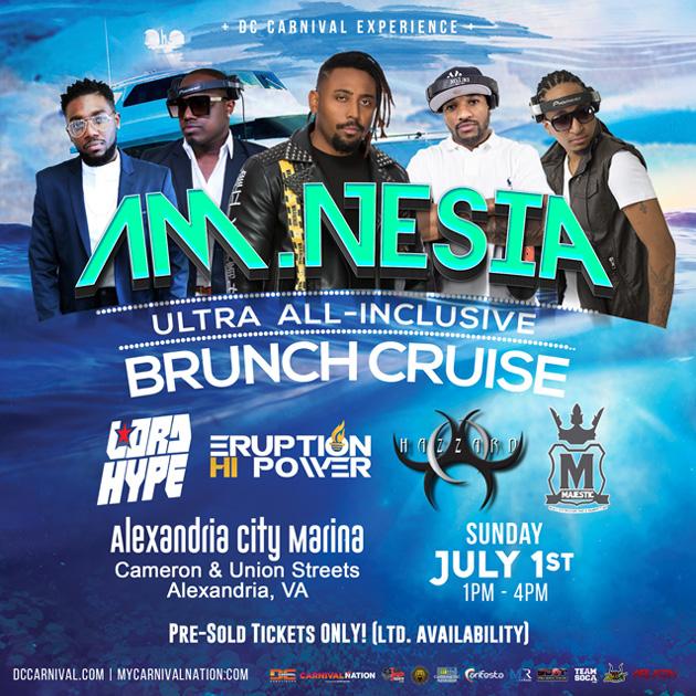 A.M.Nesia : The Ultra All-Inclusive Brunch Cruise