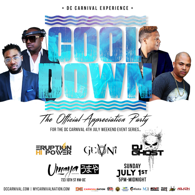DC Carnival Cool Down Party