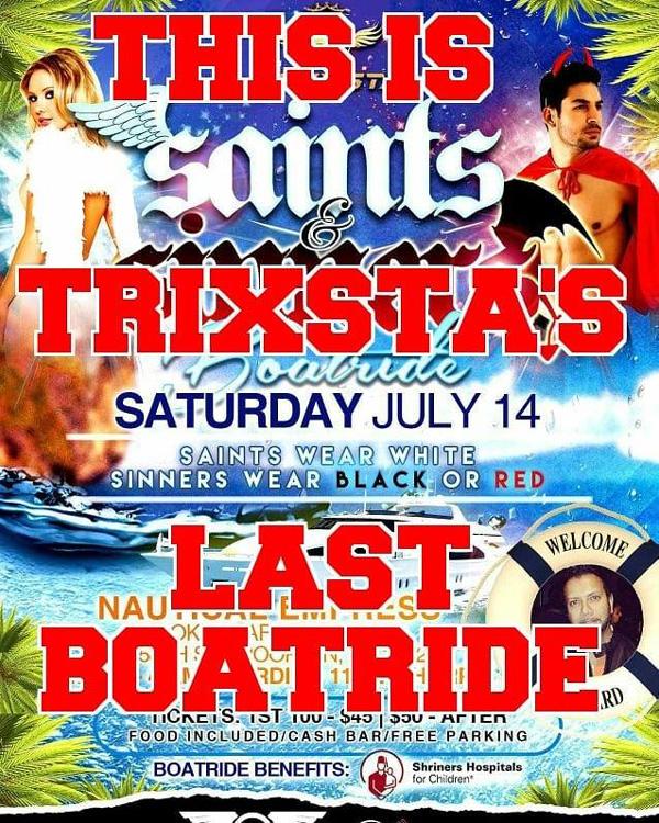 Saints & Sinners Boatride