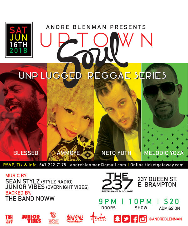Uptown Soul Unplugged Reggae Series