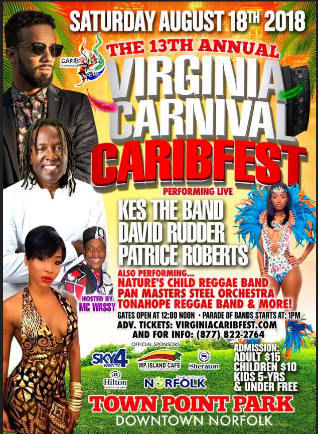 """VA Carnival """"CaribFest"""" 2018"""