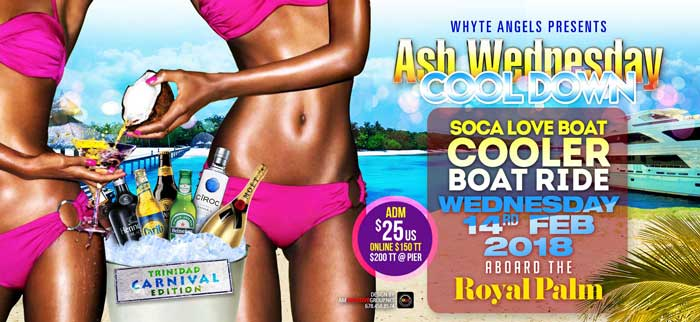 Whyte Angels Ash Wednesday Cool Down Cooler Soca Love BoatD